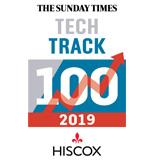 2019: Sunday Times Hiscox Tech Track 100
