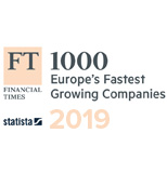 2019: Financial Times FT1000: Europe's Fastest Growing Companies