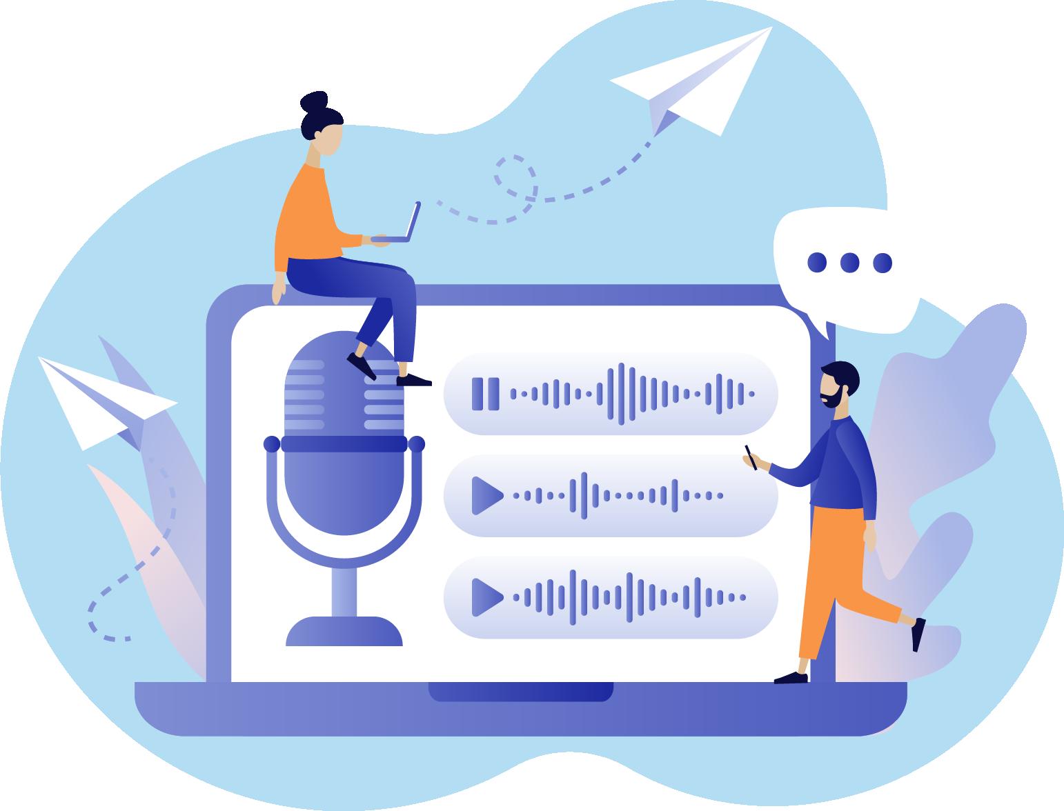 image Voice Recording